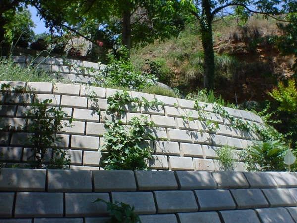 Prefabricados san blas sa granada spain - Muro de bloques ...