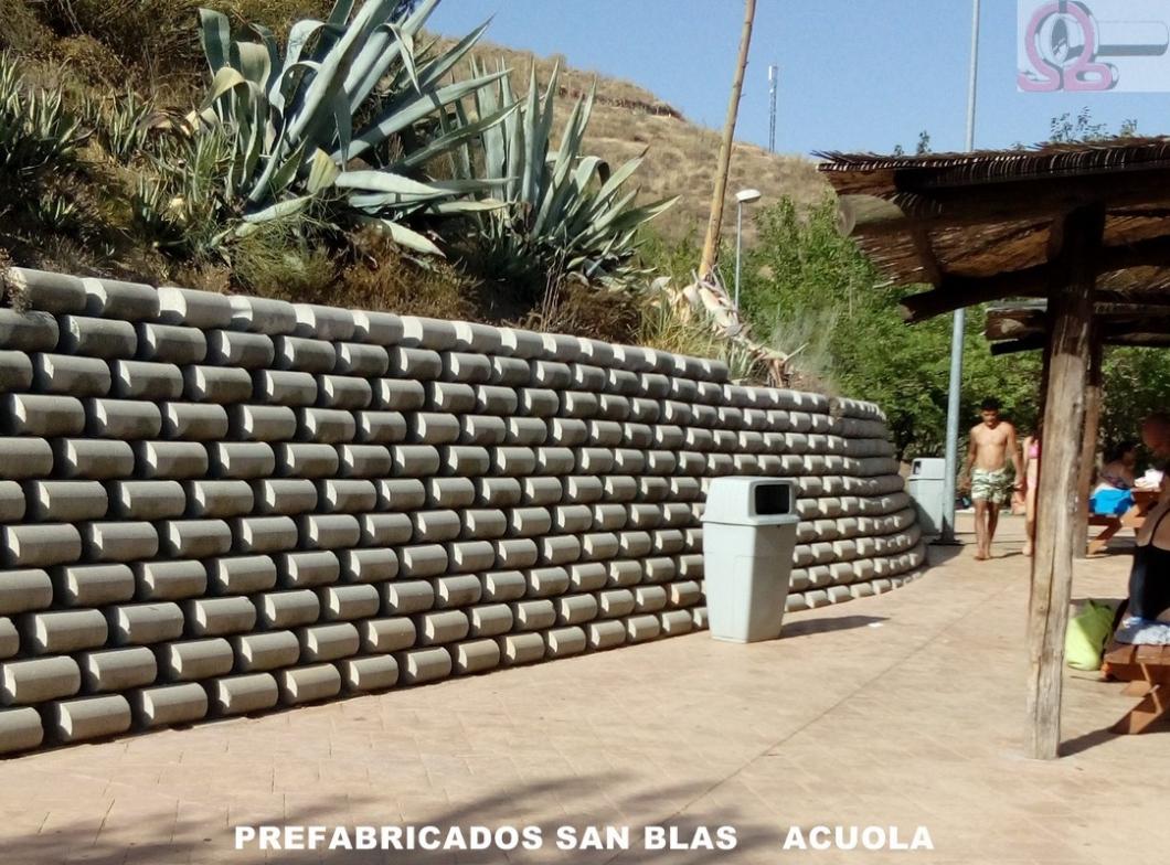 Prefabricados san blas sa granada spain - Jardineras prefabricadas ...